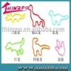 SGS-ROHS dinosaur series silicone rubber bands
