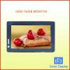 7'' USB Monitor with touch screen