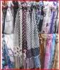 fashion dot print scarf prompt goods