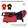 Clamshell auto timer heat press machine