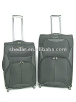 Classical Design 3 PCS 600D Polyester Spinner Trolley Case