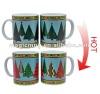 Newest christmas gift Color Changing Mug/Magical Ceramic Cups/sublimation mug