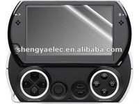 High clear anti-scratch game player screen protector for PSP go
