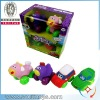 new design cartoon series kids lovely vinyl animal car toy