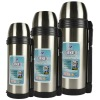 new design double wall vacuum stainless steel travel bottle