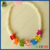Horse children's lovely acrylic plastic necklace