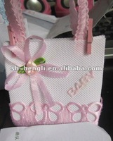 Party favor bag, gift packing, baby shower gift bag