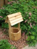 2012 Wooden Garden Wishing Well