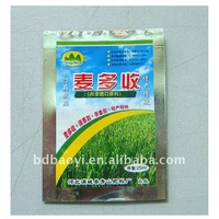 Three side seal plastic packaging bags for fertilizer in alibaba China
