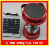 12~15hours' work time LED solar camping light with solar panel seperated-design