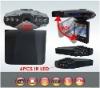 2.5 inch 120degrees 6 IR LED 270 whirl portable car dvr camera