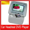 Game Function and High Definition Car 7 inch headrest car dvd with Zipper