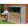 Storage shed for wood