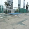 Portable barrier fence