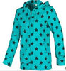Lady's high quality fleece design hoody