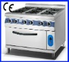 CY-6T gas cooker with oven