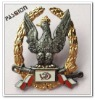 China produced bullion custom metal police badge