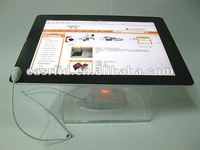 Transparent Color Openly Display Acrylic Stand/Support For IPAD/Tablet PC