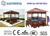 (Nice desing)wooden Gazebo SR888 for Jacuzzi