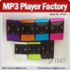 New model mp3 player factory wholesale mini mp3 support microsd card slot