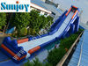 2012 new hippo inflatable water slide