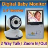 2.4G 1.5 Inch LCD WIRELESS DIGITAL BABY VISION Monitor Video 2 Way Audio