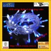 LED color changing string light of white and blue- color