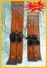 classical wooden snow ski snowboard heirloom collection