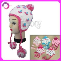 Crochet baby winter knit hat RQ-B05