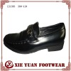 2012 fashion TPR women black leather shoes