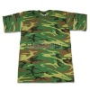 Camouflage Military T Shirt, Army Shirt