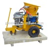 GZ-3 air motor drive shotcrete machine