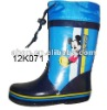 Mini mouse printed for boys boot rain