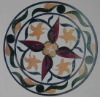 Natural stone mosaic for floor or table