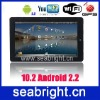 10.2 inch Flytouch 3 android 2.2 512MB tablet MG105B ( GPS , android 2.2, 4G/512MB, camera )