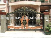 2011 Top-selling garden wrought iron driveway gates