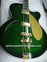 Hope Green hollow electric guitar