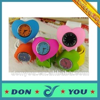 Silicone Snap Wrist Watches In Fashion Colors