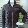 2012 wholesale style men's fashion winter leather motorcycle jacket