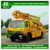 24 m Overhead Working Truck / DFAC 4*2 High Bucket Operation Truck