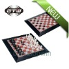 2-in-1 magnetic chess and checkers