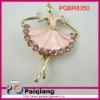 Promotional Fashion angel brooch jewelry factory