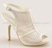 2012 hole high heel platform open toe women sandals