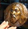 Hot sale Jesus bronze head sculpture for Christmas gift