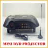 Mini LED DVD Projector 20 Ansi Lumens For Hom Theatre