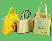 non woven fashion handle bag