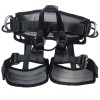 Rescue safety half harness for climbing