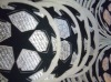 UEFA Champions League self-adhesive 3D flock transfer patches