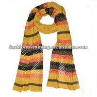 Hollow fashion cashmere scarves