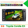 Car DVD for Toyota Corolla EX with GPS Navigation System